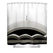 Futuristic Islamic Dome Shower Curtain