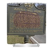 Ga-104-1 Joshua Hill Home Shower Curtain