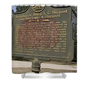 Ga-108-2 Birthplace Of Bishop A. G. Haygood And Miss Laura A. Haygood Shower Curtain