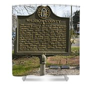 Ga-97-1 Madison County Shower Curtain