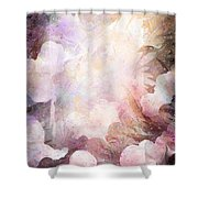 Gabriel Shower Curtain by Rachel Christine Nowicki