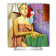 Gaby Shower Curtain