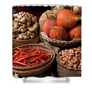 Gac Fruit 01 Shower Curtain