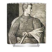 Gaius Caesar Caligula Emperor Of Rome Shower Curtain