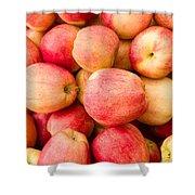 Gala Apples On Display Shower Curtain