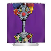 Galactic Circus Shower Curtain