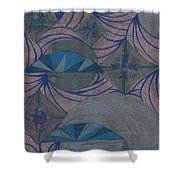 Galactic Shower Curtain