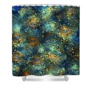 Galaxies  Shower Curtain
