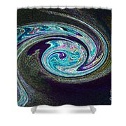 Galaxy Birth 1 Conception Shower Curtain