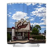 Galaxy Diner Shower Curtain