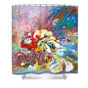 Galaxy Formation Shower Curtain