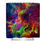 Galaxy Lights Shower Curtain