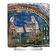 Galen And Hippocrates Shower Curtain