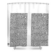 Galen: Opera Omnia Shower Curtain