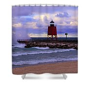 Gales Of November Shower Curtain