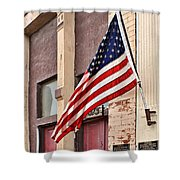 Gallantly Streaming Shower Curtain