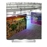 Gallery Top Shower Curtain