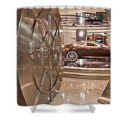 The Vault - Aston Martin Shower Curtain
