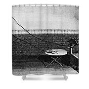 Galvani Galvanism - To License For Professional Use Visit Granger.com Shower Curtain