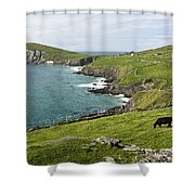 Atlantic Coast Of Ireland Shower Curtain