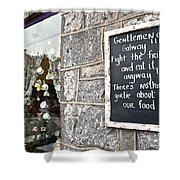 Galway Fight The Frills Shower Curtain
