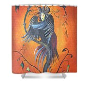 Gamaun The Prophetic Bird Shower Curtain