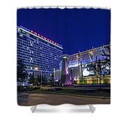 Gambling Light Shower Curtain