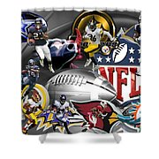 Game Changers Shower Curtain