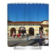 Game Day At Joker Marchant Shower Curtain