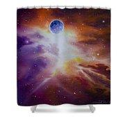 Gamma Nebula Shower Curtain