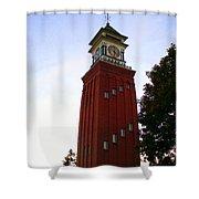 Gananoque Clock Tower Shower Curtain