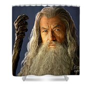 Gandalf Shower Curtain