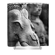 Ganesha In Time Shower Curtain