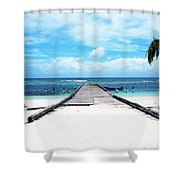Gangplank Of Perfection Shower Curtain