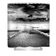 Gangplank Of Perfection Infrared Extreme Shower Curtain
