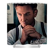 Gangster Squad Penn Shower Curtain