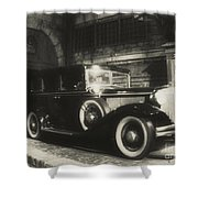 Gangsters Have Alwaystraveled In Style Shower Curtain