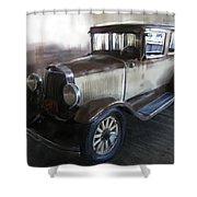 Gansgter Era Automobile Shower Curtain