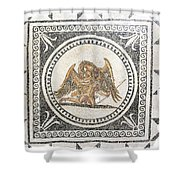 Ganymede Carried Off By Zeus Shower Curtain