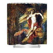 Ganymede Shower Curtain