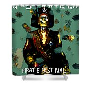 Gasparilla Pirate Fest 2015 Full Work Shower Curtain