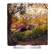 Gapstow Secluded Shower Curtain