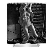 Garage Shower Curtain