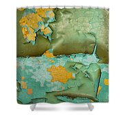 Garbage Trees Shower Curtain