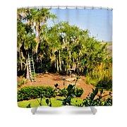 Garden And Marsh Shower Curtain