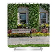Garden At Niagara Parks School Shower Curtain