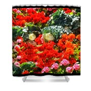 Garden Child Shower Curtain