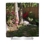 Garden Cleanup Shower Curtain