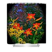 Garden Color Delight Shower Curtain