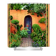 Garden Delights Mesilla Shower Curtain